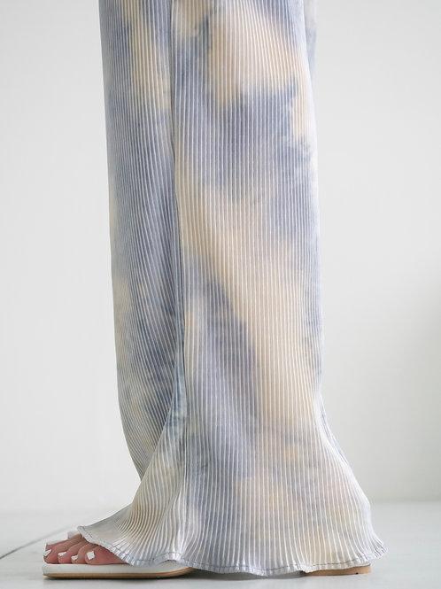 扎染直紋長褲*