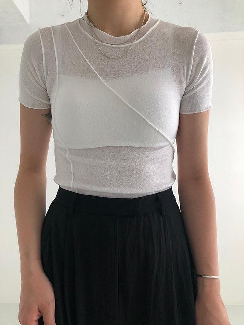 三色線條感T恤