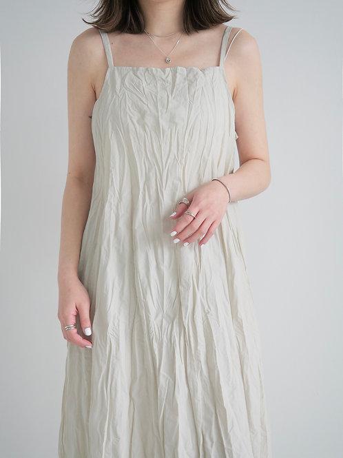 皺紋連身裙