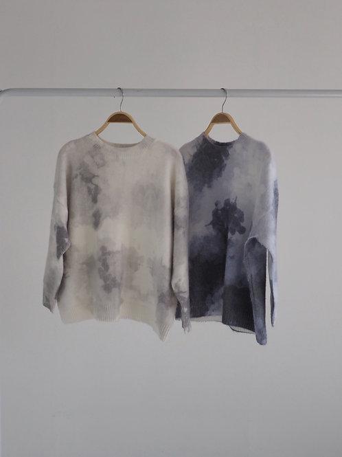 水彩感毛衣(40%wool+25%mohair)