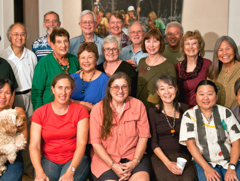 Fellow Artists and Friends at Ward Center Gallery