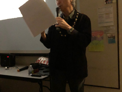 """Presentation of """"The Aesthetics of Spirituality"""" at the Society for Asian Art of Hawaii"""