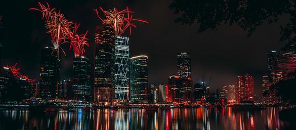 Brisbane on Fire