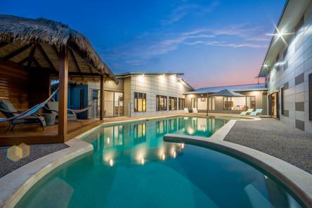 Large modern homes