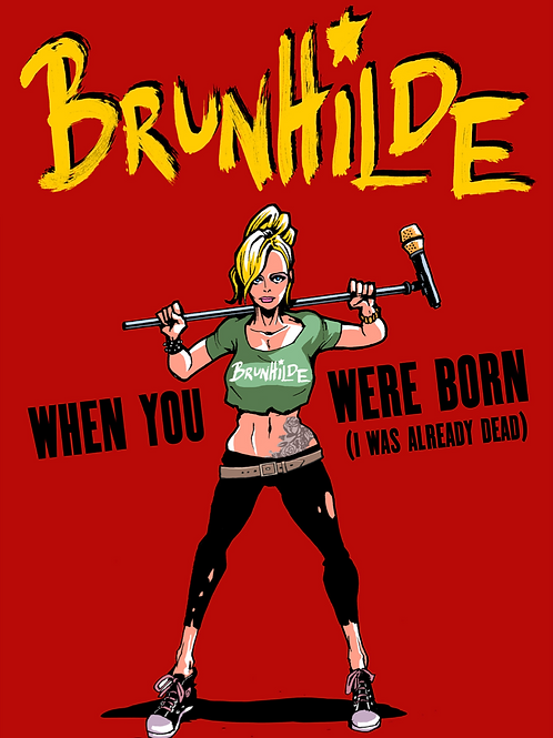 Poster When you were born (i was already dead)