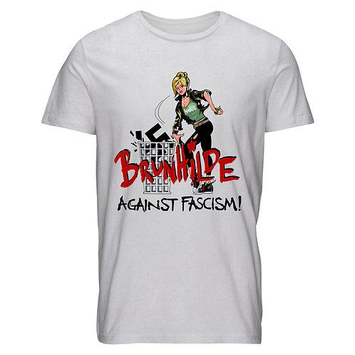 Shirt Men Brunhilde against fascism F*** NZS