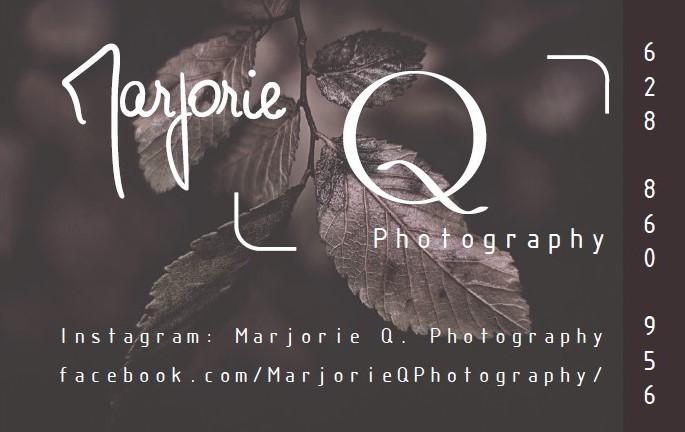 Tarjetas de Visita Marjorie Q. Photography
