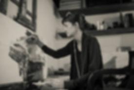 Artist Jean Gray Mohs abstrat artist Raleigh North Carolina artist acrylic painter fine arts watercolor oil painting mixed media helen frankenthaler richard diebenkorn gerhard richter modern bold colors interior design