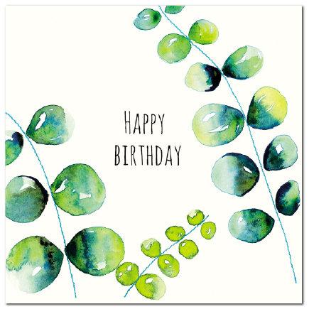 Happy Birthday Eucalyptus (W)