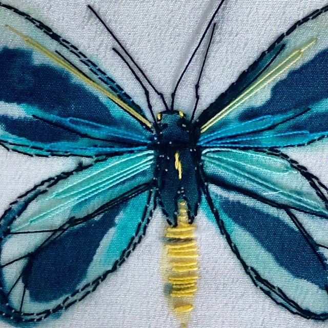 Kate Buchanan embroidery butterfly