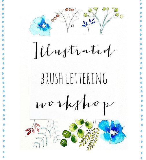 IllustratedBrush lettering workshop
