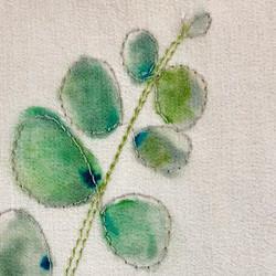 Kate Buchanan  silk painting