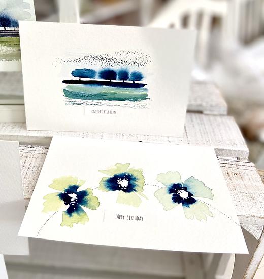 Online Workshop Paint a postcard