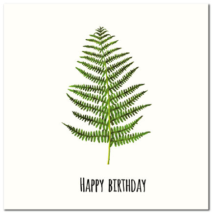 Happy Birthday Fern (W)