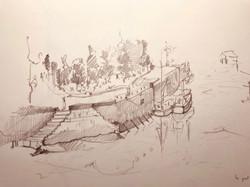 Le port à Honfleur