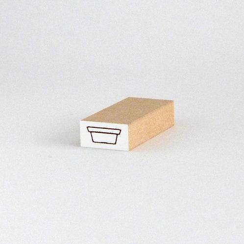 はんこ・植木鉢(2cm x 1cm)
