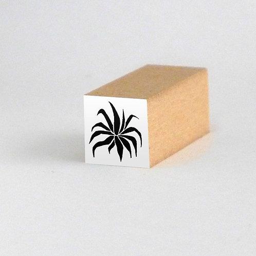 はんこ・リュウゼツラン(3cm x 3cm)