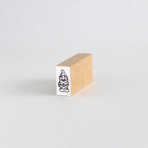 はんこ・路上の小人3(1cm x 2cm)