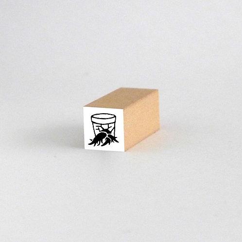 はんこ・鉢から根っこ(2cm x 2cm)