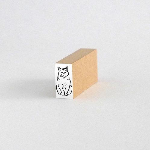 はんこ・野良猫(1cm x 2cm)