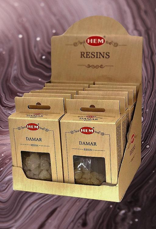 Résine de Dammar -qualité supérieure- 30 g