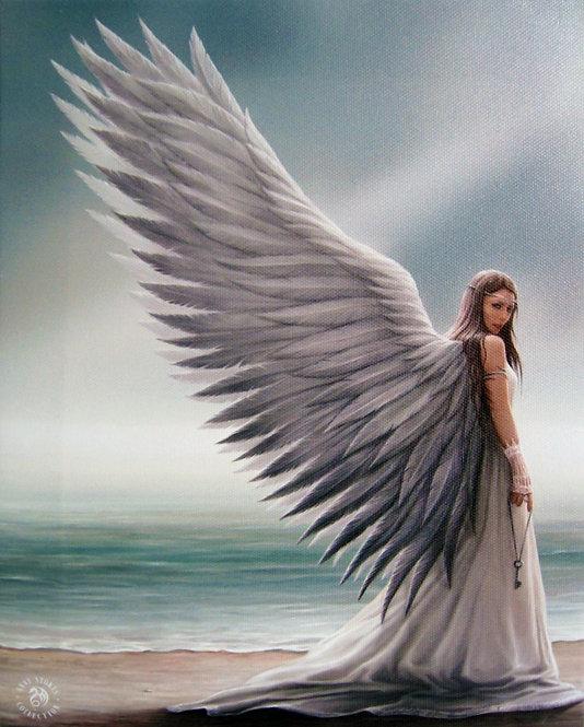 SPIRIT GUIDE CANVAS ART PRINT BY ANNE STOKES