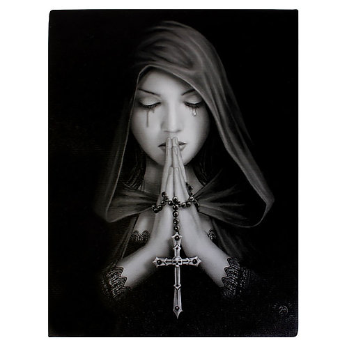 GOTHIC PRAYER CANVAS PRINT BY ANNE STOKES