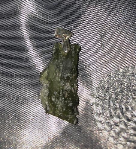 Pendentif en moldavite authentique - must have-