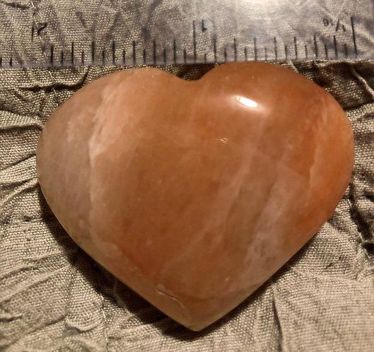 """Cristaux de méditation et pierres de poche : """"puffy hearts"""""""