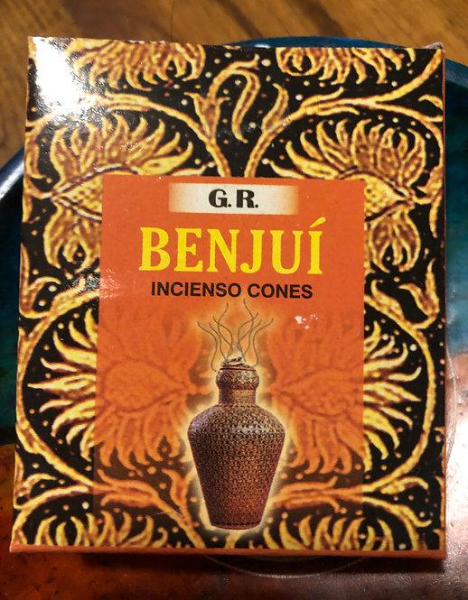 Benjoin, encens naturel- cônes (GR)
