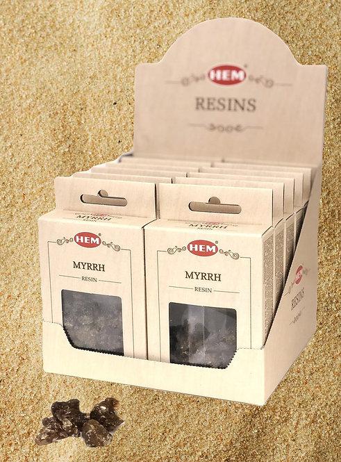 Myrrhe naturel- résine -30g (Hem)