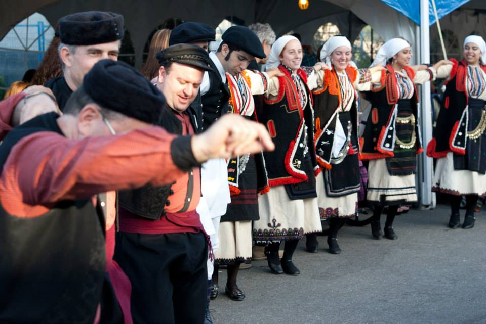 Greek Dancers at Greeksummerfest