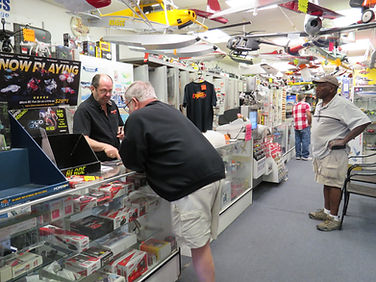 Owner on site every day helps loyal customer with parts
