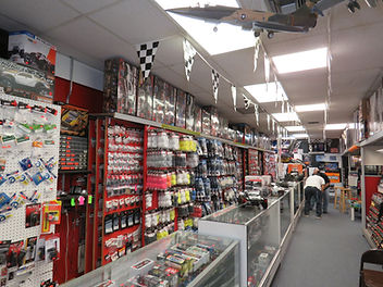 Abundant amount of rc vehicles anparts in stock