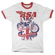 B.S.A. Union Jack Ringer Tee