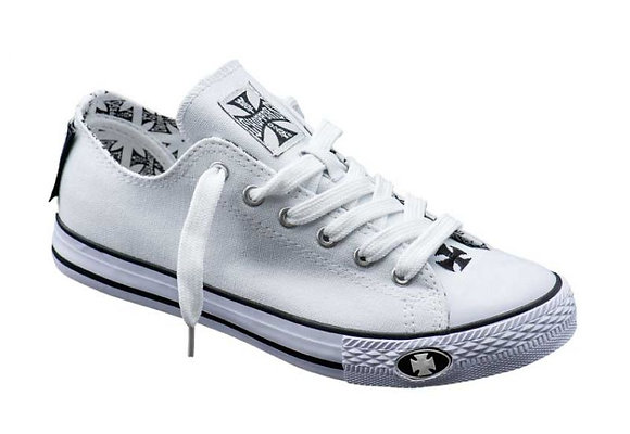 WCC - WARRIOR LOW-TOP SHOE - White