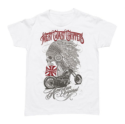 WCC - CHIEF T-SHIRT - Solid White