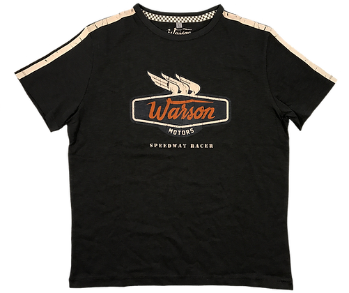 T-Shirt Speedway Racer Carbone Men