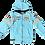 Thumbnail: Siffert Hoodie Targa Blue Kids
