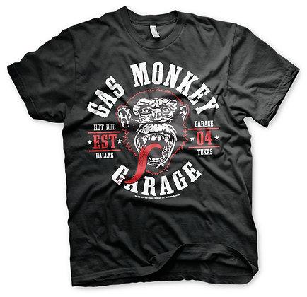 Gas Monkey Garage Round Seal T-Shirt