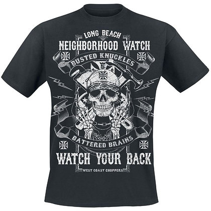 WCC - BUSTED KNUCKLES T-SHIRT - Solid Black