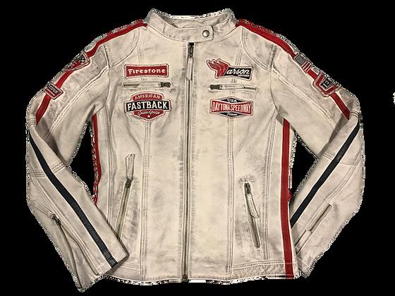 Daytona Leather Smoke White, sur commande, envoie dans 6 jours!