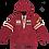 Thumbnail: Regazzoni Hoodie Dark Red Kids