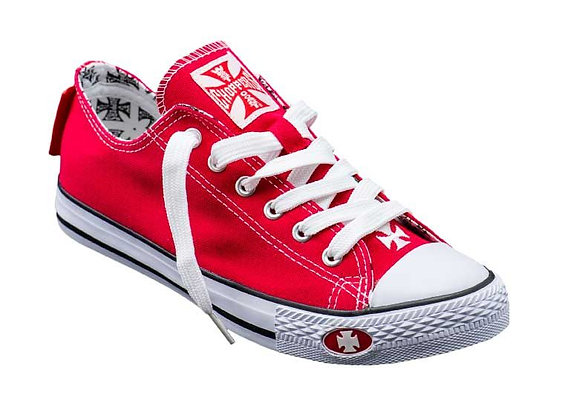WCC - WARRIOR LOW-TOP SHOE - Red