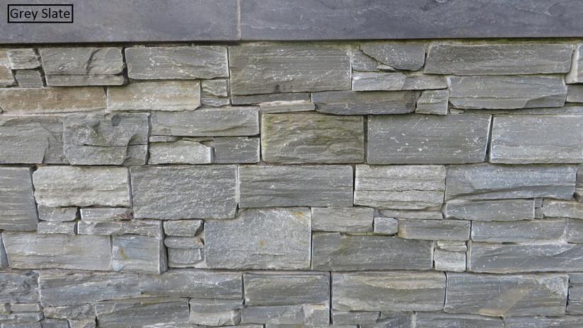 Grey Slate wall