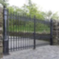 Stirling Cast Iron Driveway Gates