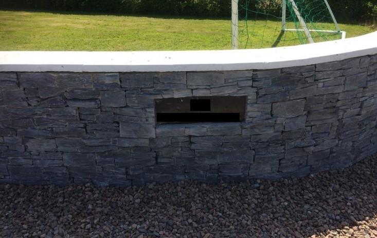 Charcoal Slate Wall