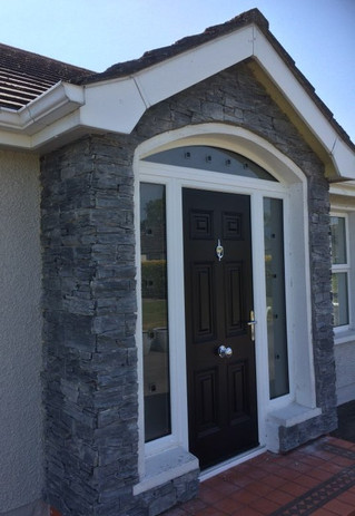 Charcoal Slate Porch