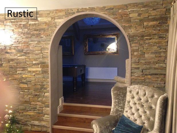 Rustic internal wall