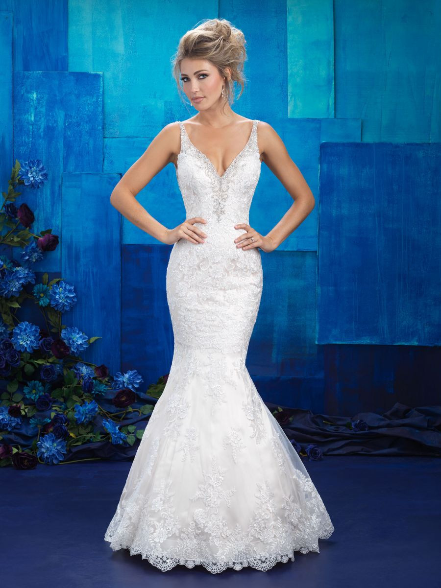 Fit and Flare with Crystal Lined Bodice